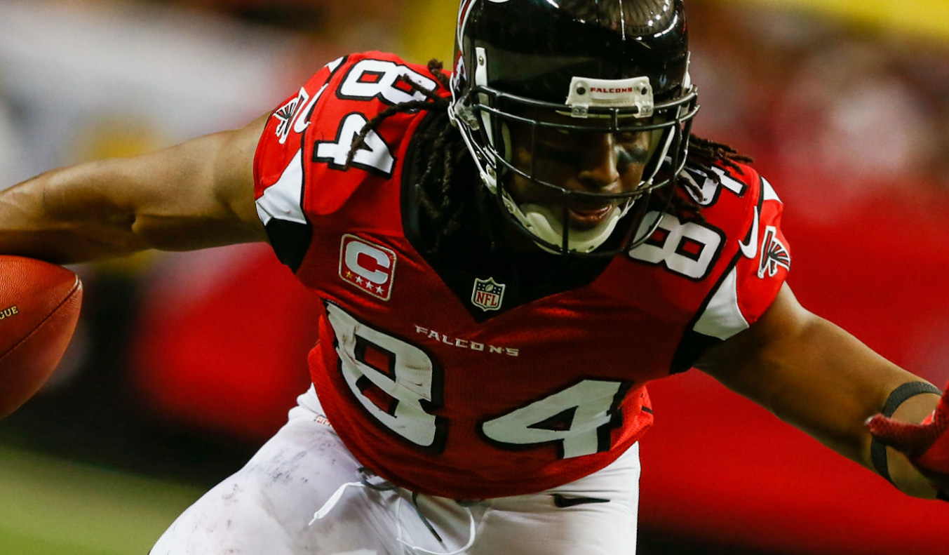 Roddy White Is Gone From Falcons After 11 Season