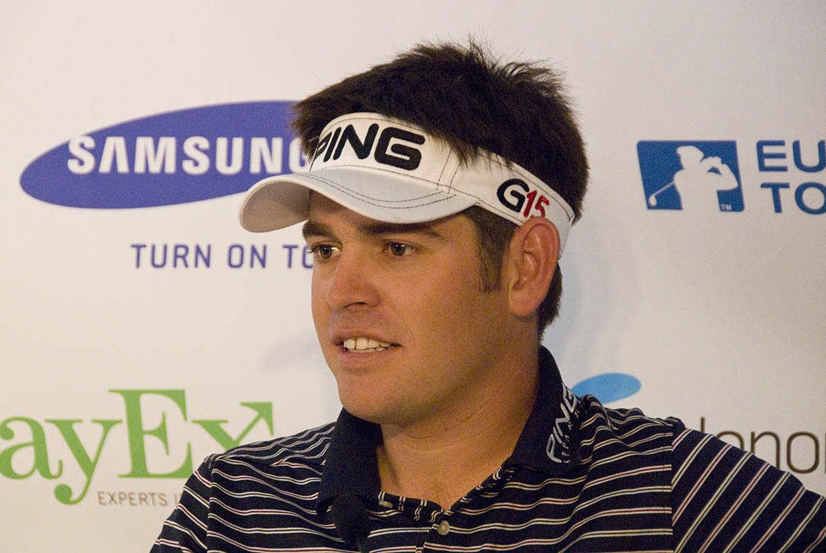 Louis Oosthuizen's Number 16 Hole